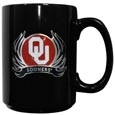 Oklahoma Flame Ceramic Mugs