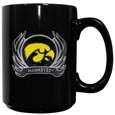Iowa Flame Ceramic Mugs