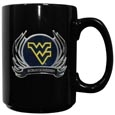W. Virginia Flame Ceramic Mugs