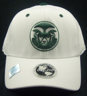 Colorado State Rams White One Fit Hat