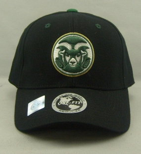 Colorado State Rams Black One Fit Hat