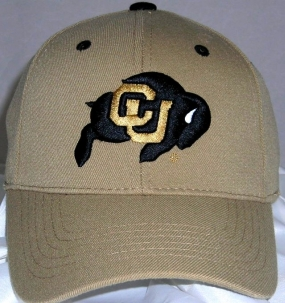 Colorado Buffaloes Team Color One Fit Hat