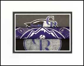 Colorado Rockies Vintage T-Shirt Sports Art