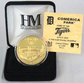Comerica Park 24KT Gold Commemorative Coin