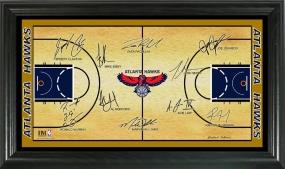 Atlanta Hawks 2009 Signature Court