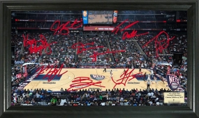 New Jersey Nets Signature Court