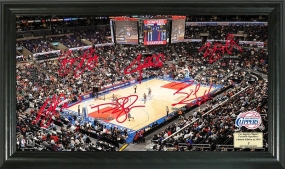 Los Angeles Clippers Signature Court