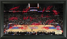 Detroit Pistons Signature Court
