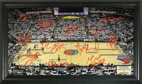 Charlotte Bobcats Signature Court
