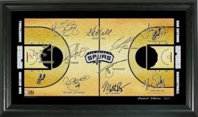 San Antonio Spurs 2008 Signature Court