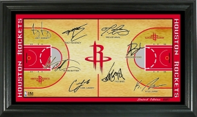 Houston Rockets 2008 Signature Court