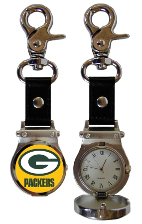 Green Bay Packers Clip On Watch
