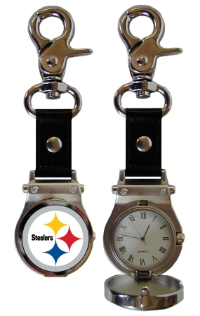 Pittsburgh Steelers Clip On Watch