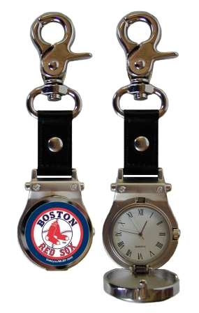 Boston Red Sox Clip On Watch