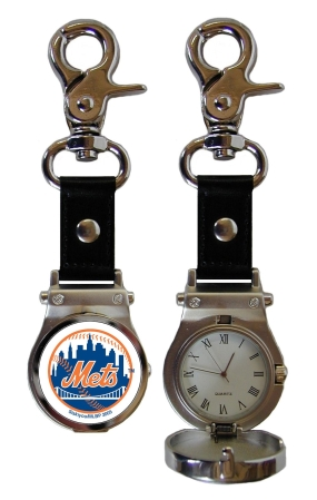 New York Mets Clip On Watch