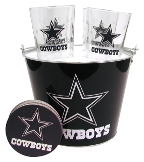 Dallas Cowboys Gift Bucket Set