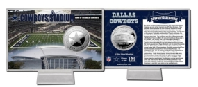 Cowboys Stadium Silver Coin Card