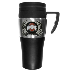 Ohio St. Flame Travel Mug