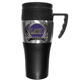 LSU Flame Travel Mug