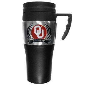 Oklahoma Flame Travel Mug