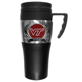 Virginia Tech Flame Travel Mug