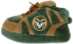 Colorado State Rams Baby Slippers