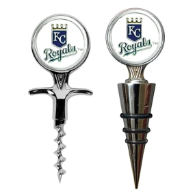 Kansas City Royals Cork Screw and Wine Bottle Topper Set