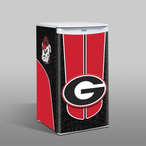 Georgia Bulldogs Counter Top Refrigerator