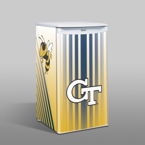 Georgia Tech Yellow Jackets Counter Top Refrigerator