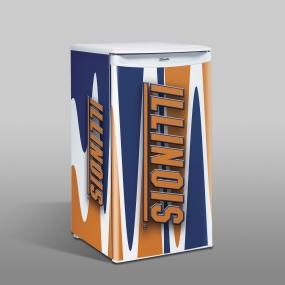 Illinois Fighting Illini Counter Top Refrigerator