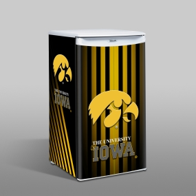 Iowa Hawkeyes Counter Top Refrigerator