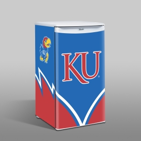 Kansas Jayhawks Counter Top Refrigerator