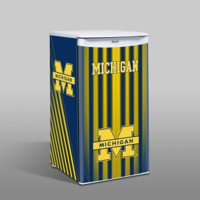 Michigan Wolverines Counter Top Refrigerator