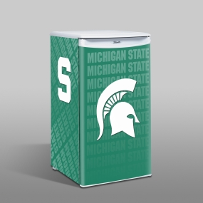 Michigan State Spartans Counter Top Refrigerator