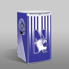 Northwestern Wildcats Counter Top Refrigerator