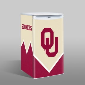 Oklahoma Sooners Counter Top Refrigerator