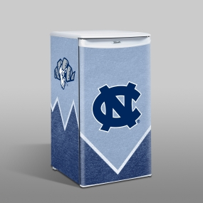 North Carolina Tar Heels Counter Top Refrigerator