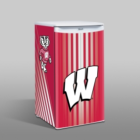 Wisconsin Badgers Counter Top Refrigerator