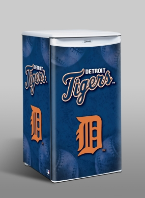 Detroit Tigers Counter Top Refrigerator
