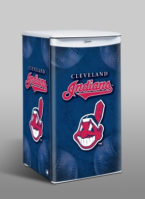Cleveland Indians Counter Top Refrigerator