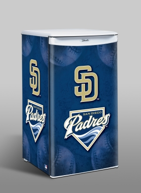 San Diego Padres Counter Top Refrigerator