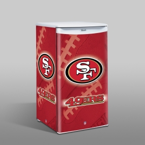 San Francisco 49ers Counter Top Refrigerator