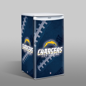 San Diego Chargers Counter Top Refrigerator