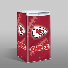 Kansas City Chiefs Counter Top Refrigerator