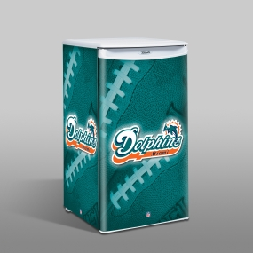 Miami Dolphins Counter Top Refrigerator