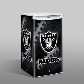 Oakland Raiders Counter Top Refrigerator