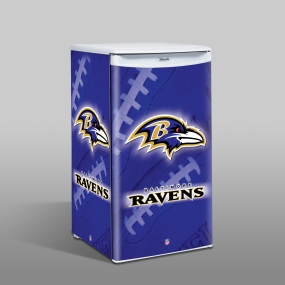 Baltimore Ravens Counter Top Refrigerator