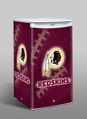 Washington Redskins Counter Top Refrigerator