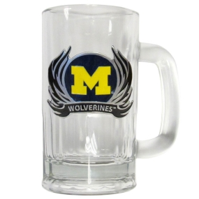 Michigan Flame 12 oz Tankard