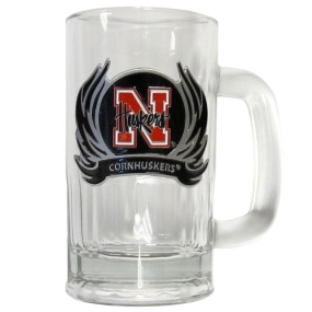 Nebraska Flame 12 oz Tankard